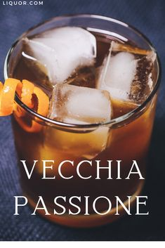 Reignite your passion for the Old Fashion with this drink recipe that riffs on the classic by using three different amaros! Vecchia Passione is ideal as a tantalizing aperitif or slow-sipping digestif with a spirit-forward kick. New Years Cocktails, Types Of Cocktails, Festive Cocktails, Christmas Cocktails, Classic Cocktails, Amaro Cocktails, Whiskey Cocktails, Tailgate Drinks, Tailgating