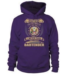 Bartender (Hoodie Unisex - Purple) #beauty #nature #sports bartender style, bartender tattoo design, bartender tattoo ink, back to school, aesthetic wallpaper, y2k fashion