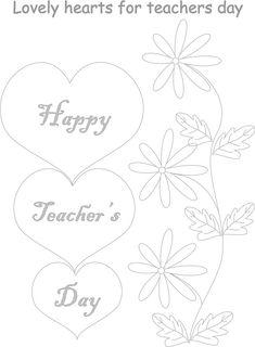 Teachers day coloring worksheets for kids 1  worksheets for
