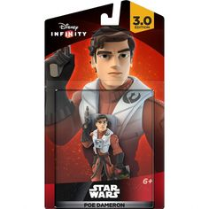 "Disney Infinity 3.0, ""Star Wars - Poe Dameron"", GamePlay Character/Action Figure, for Major Gaming Platform"