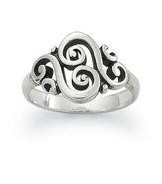Spanish Swirl Ring: James Avery