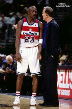 The GOAT and coach Doug Collins in D.C.