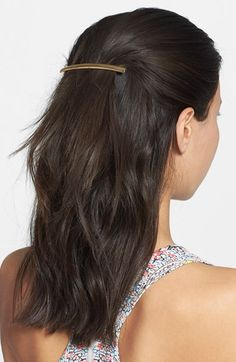 Free shipping and returns on Mrs President & Co Rectangle Barrette at Nordstrom.com. Secure your strands in place or accent an updo with this polished barrette designed in a timeless silhouette.