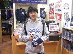 【大阪店】2014.12.24 新宿店もご利用いただいた事のあるお客様にスナップにご協力頂きました。ペイトリオッツのニットキャップご購入頂きました。ありがとうございます。また、遊びに来て下さいね~