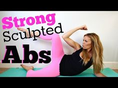 Strong Sculpted Abs Workout - YouTube