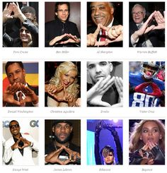 [Pyramid or Triangle] sometimes inverted...normal people are now paying homage to this in most cases unaware of what it means.