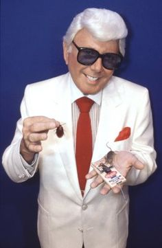 You always knew you were in Houston when...Marvin Zindler did a surprise inspection of a Restaurant.  He is gone now and much missed.