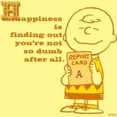 Happiness Peanuts quote