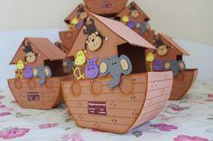 centro de mesa arca de noé