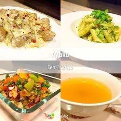 大好きな「タコとトマトのサラダ」♡ 今日は、4種類のプチトマトを入れてみました(*^^*) - 96件のもぐもぐ - ミートボールのマスタードソース、ブロッコリーソースのペンネ、タコとトマトのサラダ、オニオンコンソメスープ by ayako1015