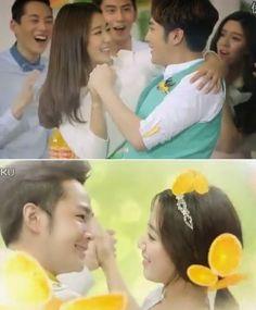 Jang Geun Suk Dan Park Shin Hye Merilis CF Baru Tongyi Juice ...