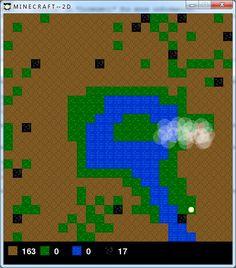 My 2D Minecraft game