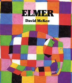 This is a read-aloud of the children's book Elmer, written by David McKee. In this story, Elmer the patchwork elephant makes himself gray with berry juice; Good Books, Books To Read, My Books, Elmer The Elephants, Album Jeunesse, Character Education, Children's Picture Books, Children's Literature, Art Lesson Plans