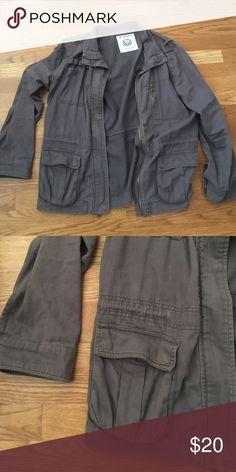 Grey utility jacket Perfect for layering Jackets & Coats Utility Jackets