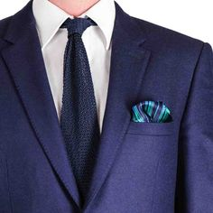 Pocket Square - Woven Jacquard silk in solid grey Notch Clearance Original BNx2nUX