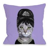 Found it at AllModern - Pets Rock Breakfast Polyester Throw Pillow