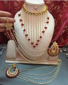 Nycccc Indian Jewelry Sets, Indian Wedding Jewelry, India Jewelry, Boho Jewelry, Jewelery, Wedding Jewellery Designs, Gold Jewellery Design, Stylish Jewelry, Fashion Jewelry