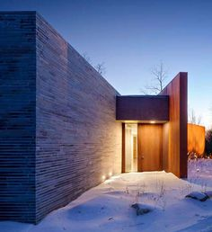 House in the Woods-William Reue Architecture-13-1 Kindesign