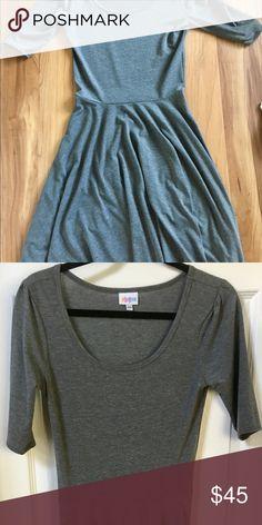 Lularoe NWOT gray nicole Dresses Midi
