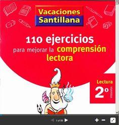 Comprensión Lectora - 110 Ejercicios para Primaria | #Presentación #Educación