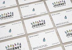 #journey #art #making #sharing #colorful #brand #pen #businesscard #handpainting #children #ateliernesenogay