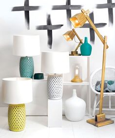 Beacon Lighting - Norway Scandinavian inspired adjustable 1 light floor lamp in teak for the study