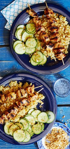 Tip: to make sure kebabs cook evenly, load up each skewer with just one type of food. Sign up for Martha & Marley Spoon to get seasonal recipes and ingredients like these Indonesian Chicken Kebabs delivered to your home!