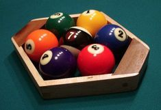 Bored with Eight-Ball? Try one of these 7 other less common billiards games. Pool Table Games, Bar Games, Games To Play, Pool Tables, Billiards Bar, Basement Bar Designs, Basement Ideas, Pool Hacks, Pool Images