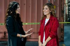Rizzoli and Isles remind me of my best friend and I.