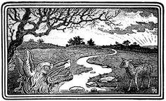 Das Lamm und er Wolf. 2014 | von Andrea Nagl