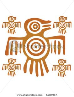 Mayan quetzal bird with a sun disk shield on the front of its body. The quetzal symbolized the movement of Creation and the will of the Creator come to earth.