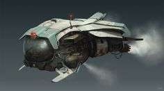 Concept ships by Steve Shi