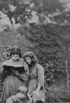 Detail of a photograph of the children of Edward Burne-Jones and William Morris, date unknown