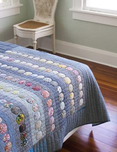 Aerial Grove in Liberty and Chambray . Carolyn Friedlander- lovely use of Liberty!