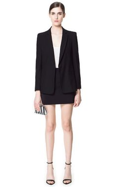 Image 1 of BLAZER WITH SEAM ON THE SHOULDER from Zara