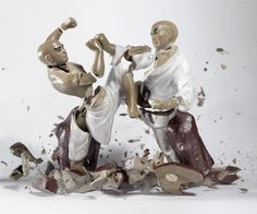 Bringing Ceramic Sculptures to Life by Smashing Them to Pieces | WIRED