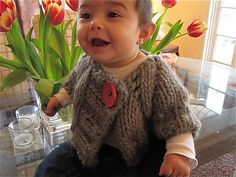 Making this now for 2 of the cutest babies in SF!  Super fast knit and unbelievably adorable!!!