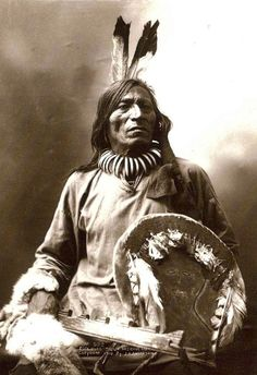 """Fool Bull, """"Tatanka Witko""""; Brule Sioux Medicine Man and warrior. Photo by John A. Anderson, 1900. #Native #American #Indian #Spirituality #Mysticism #Religion #God #Earth #Environment #Prayer"""