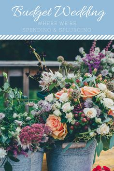 Diy wedding flowers 10 tips to save you stress pinterest vase theres no way around it weddings are pricey but not an excuse for going mightylinksfo