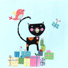 Pope Twins - PT - NEW Black Cat And Gifts