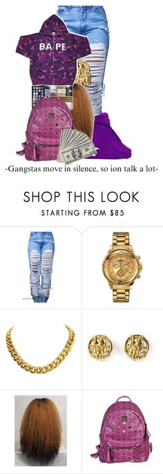 """Boy Bandz Ft Post Malone"" by teyannaa1 ❤ liked on Polyvore featuring NIKE, Versus, CÉLINE, Moschino and MCM"
