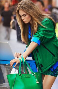 Cara Delevingne for DKNY S/S 2013