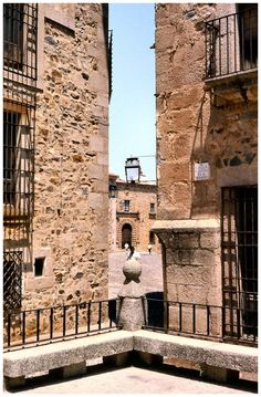 Vista de Caceres  Spain