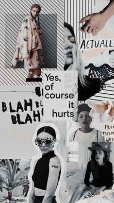 Illustrations & Prints by AnnaSorokinaArt Mode Collage, Aesthetic Collage, Collage Art, Collages, Poster Tumblr, Graphisches Design, Email Design, Blog Design, Layout Design