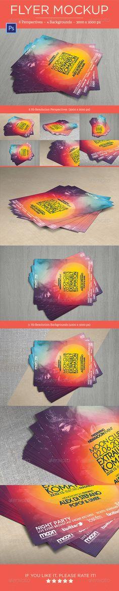 Flyer Mock-Ups Download: http://graphicriver.net/item/flyer-mockups-vol-1/4681775?ref=ksioks