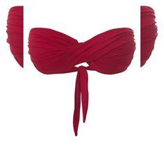 Fiquei apaixonada   Biquíni top tomara que caia vermelho  COMPRE AQUI!  http://imaginariodamulher.com.br/look/?go=2fQrm8e  #comprinhas #modafeminina#modafashion  #tendencia #modaonline #moda #instamoda #lookfashion #blogdemoda #imaginariodamulher