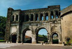 Roman gate at Autun