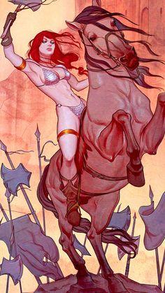 Red Sonja #1-6 by Jenny Frison