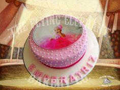 Ballerina cake. Fondant, royal icing and edible printing