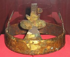 Funerary Crown of Holy Roman Emperor Henry IV, Speyer Cathedral, Germany (1106).
